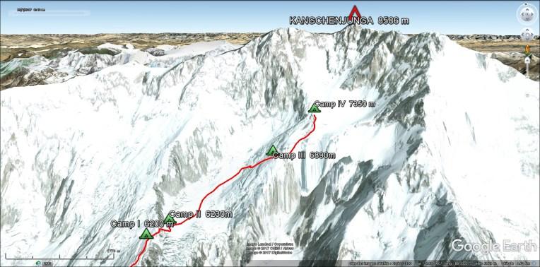 Camp 4, 7350 m