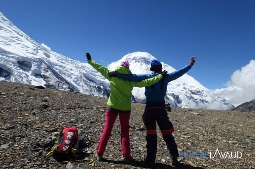 French Pass 5350m avec le Dhaulagiri