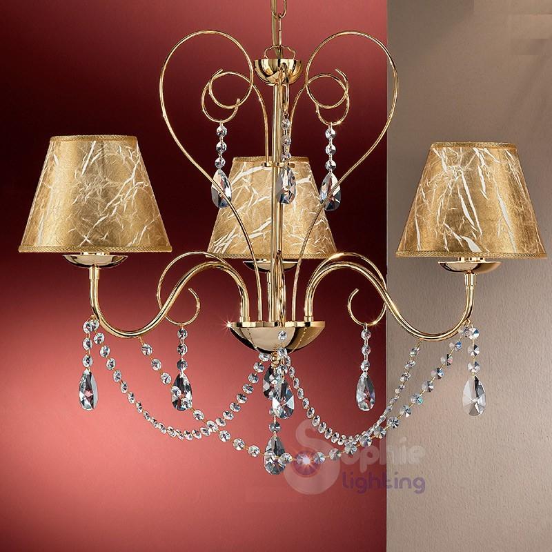 Esistono lampadari di svariate dimensioni, anche per gli ambienti piccoli. Lampadari Classici Sophie Lighting