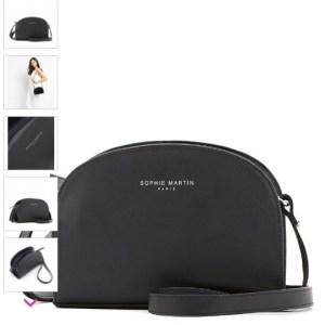 tas selempang hitam kecil