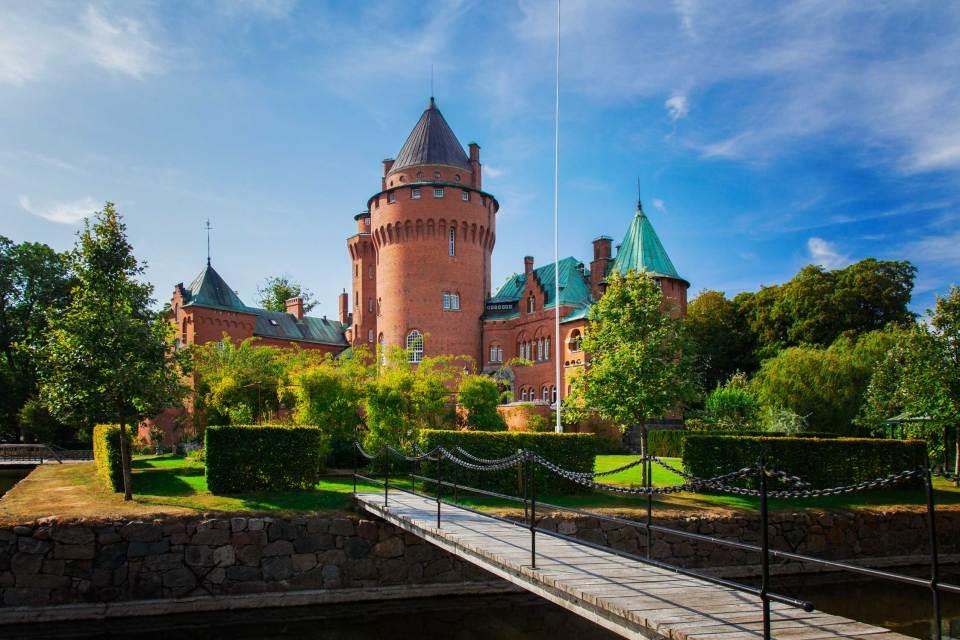 Hjularöd castle, Harlösa. © Sophie McAulay
