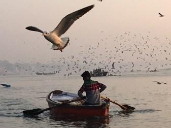 The Ganges at dawn, Varanasi