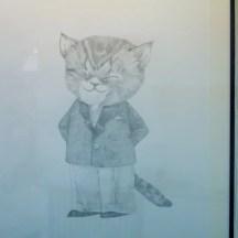 Arts en Balade 2014 exposition Sophie Navas - Petit chat