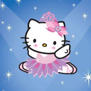 Illustration pour le magazine Mon Amie Hello Kitty