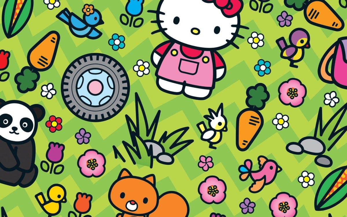 bannière du site sophienavas.fr illustration du magazine mon amie hello kitty