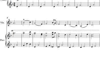 Firework - Katy Perry - Easy Violin Sheet Music Arrangement