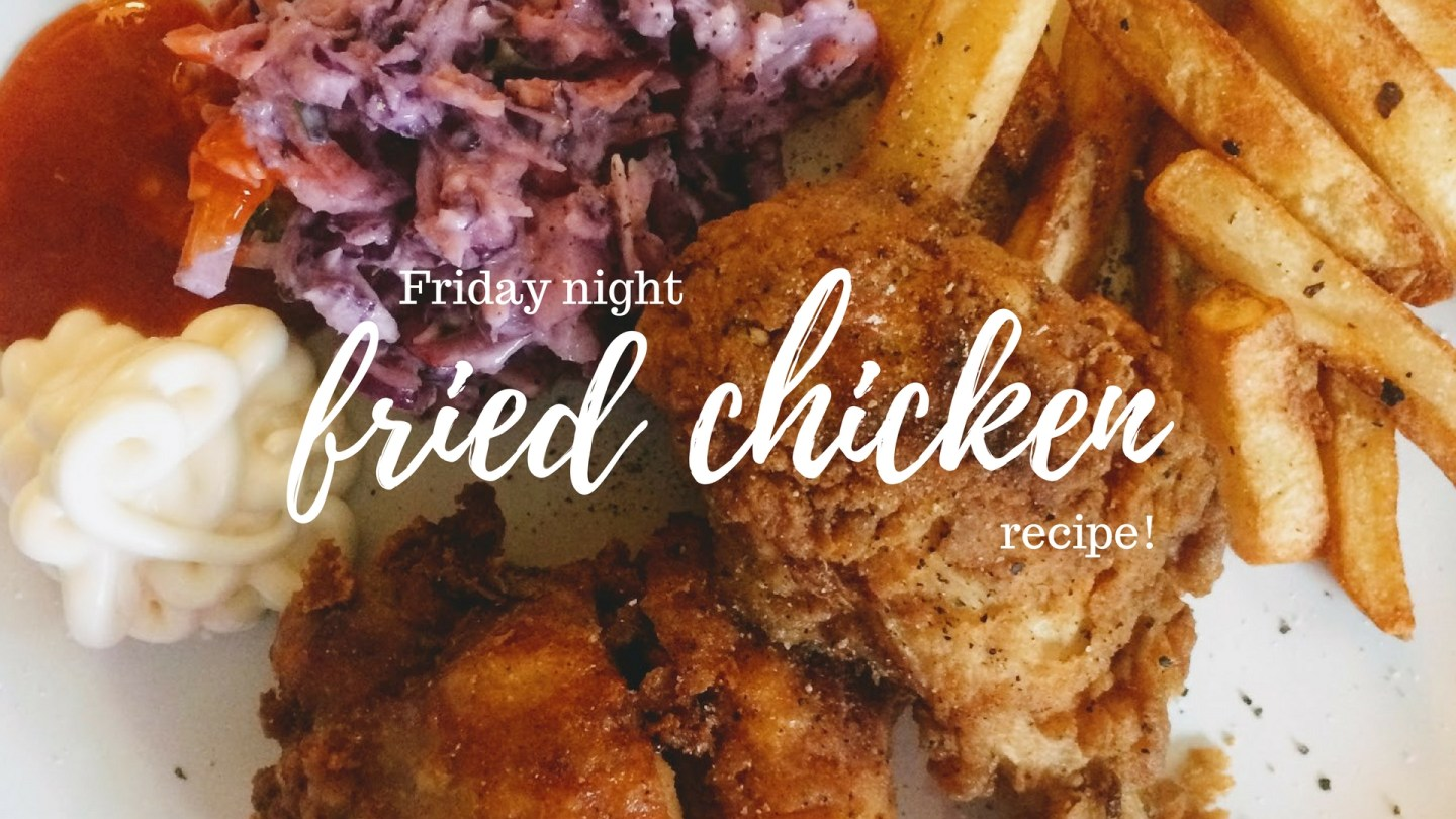 Buttermilk Fried Chicken with Fries & Slaw
