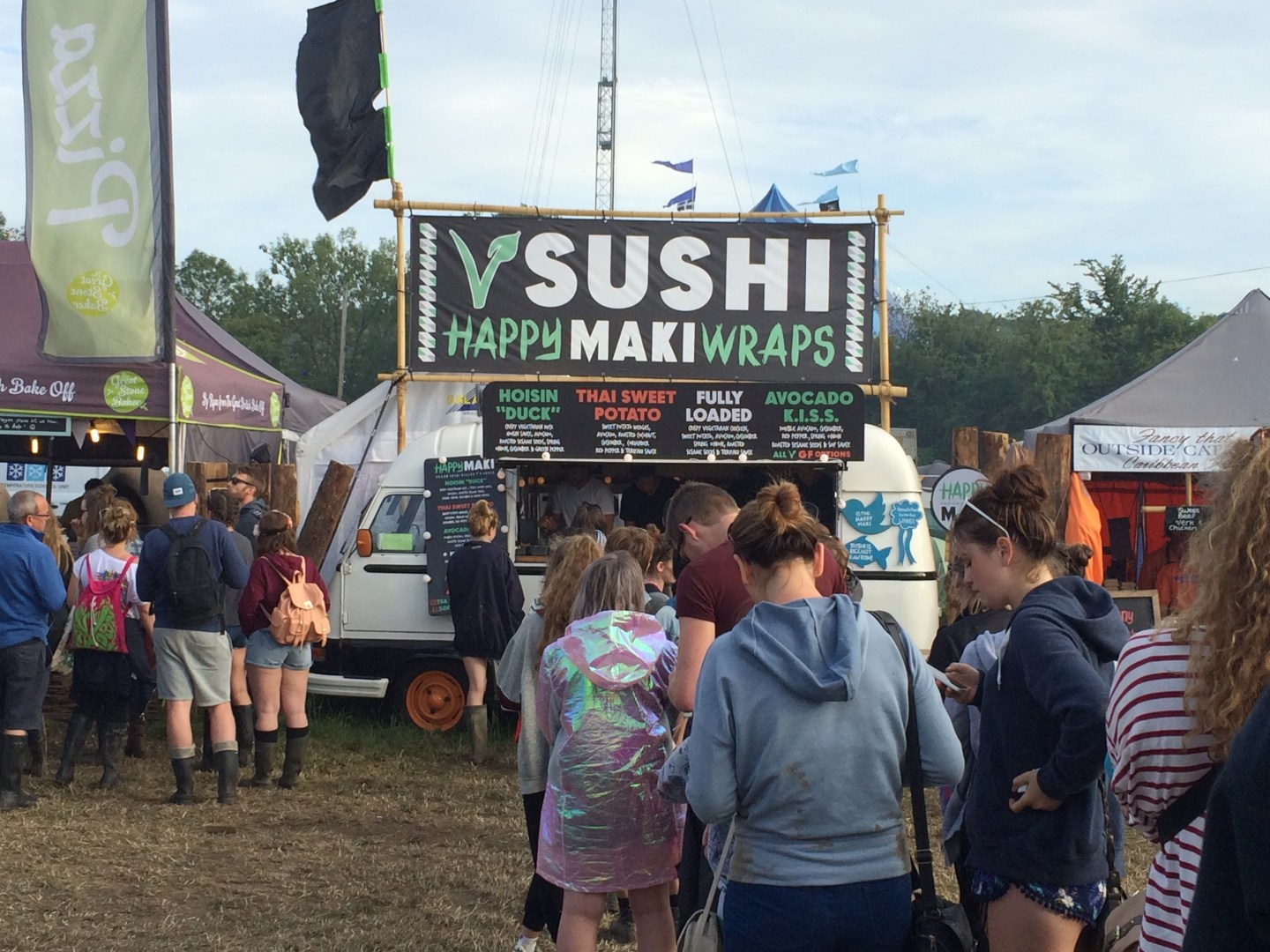 Food at #Glasto15