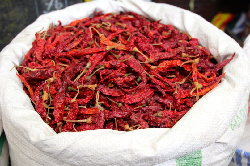 Chillies and empowerment, #WithOxfam