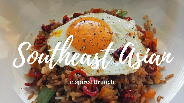 Southeast Asian-inspired brunch