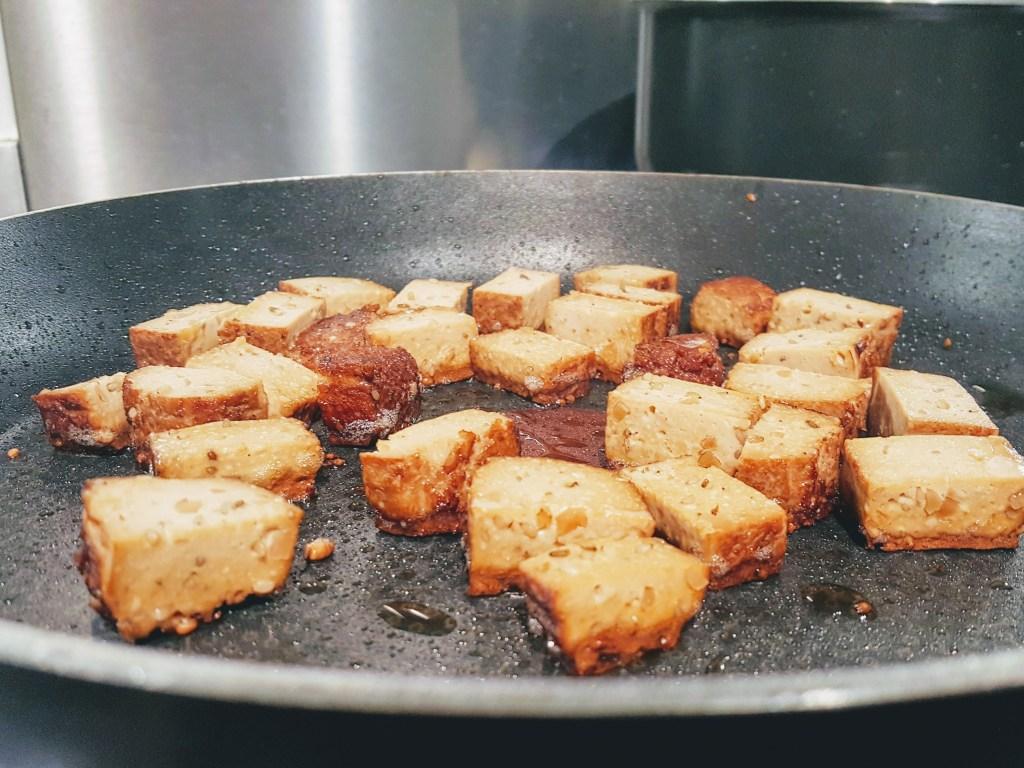 RECIPE | Crispy Tofu Noodle Bowls