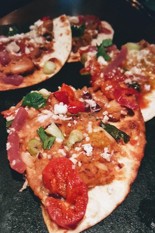 enfrijoladas mexican food review vegan