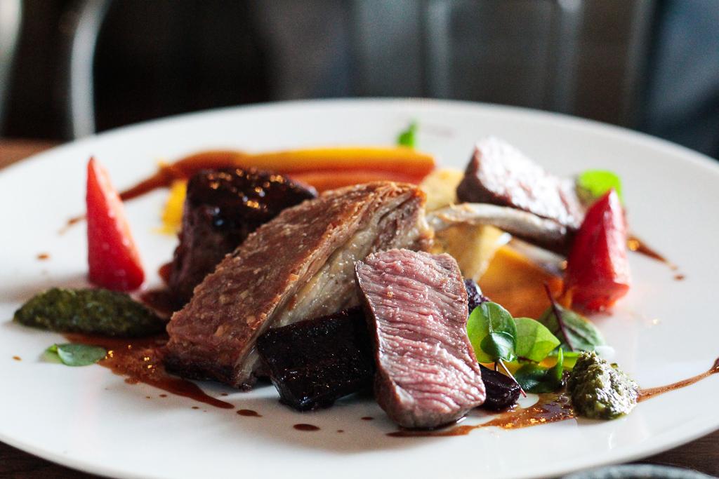 seasonal lamb main dish