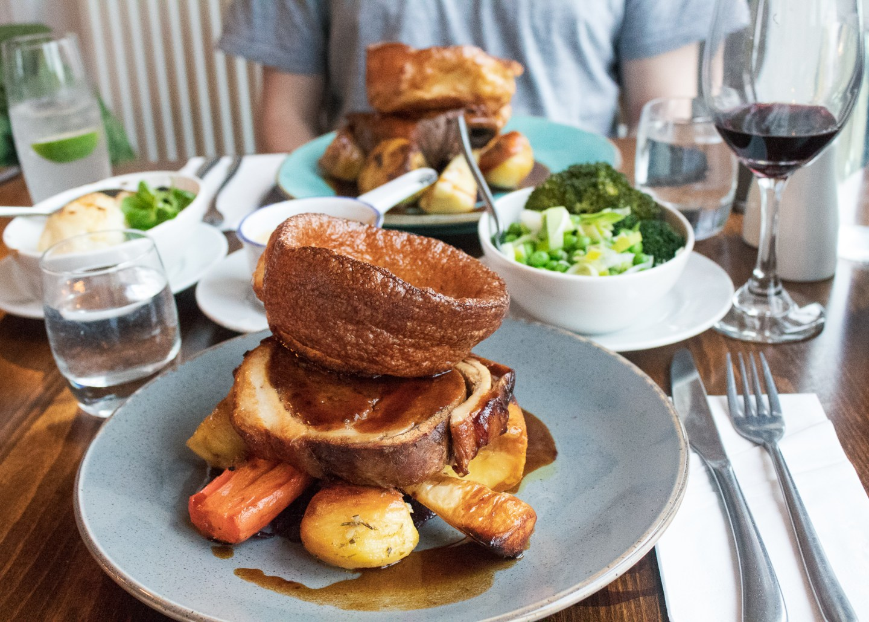 Roast Dinner at The Fat Boar, Wrexham