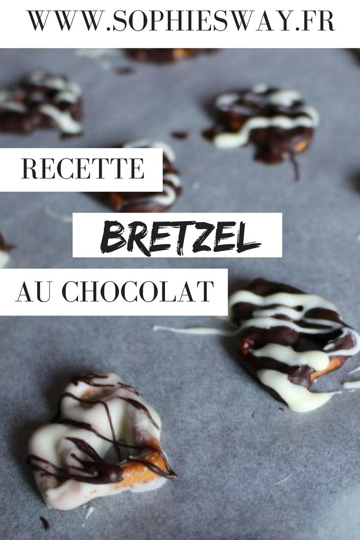 Recette de bretzel au chocolat maison