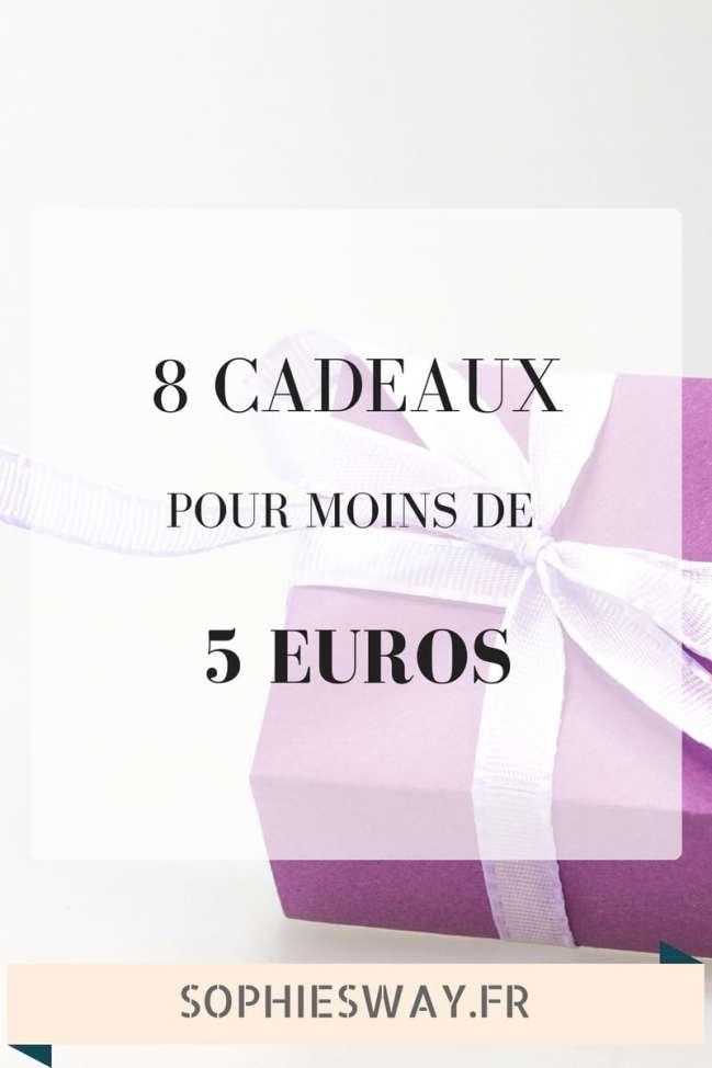 Idee Cadeau A Moins De 5 Euros.8 Idees De Cadeaux A Moins De 5 Sophie S Way Blog Lifestyle