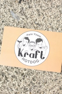 Kraft Hot Dog à Paris graphic
