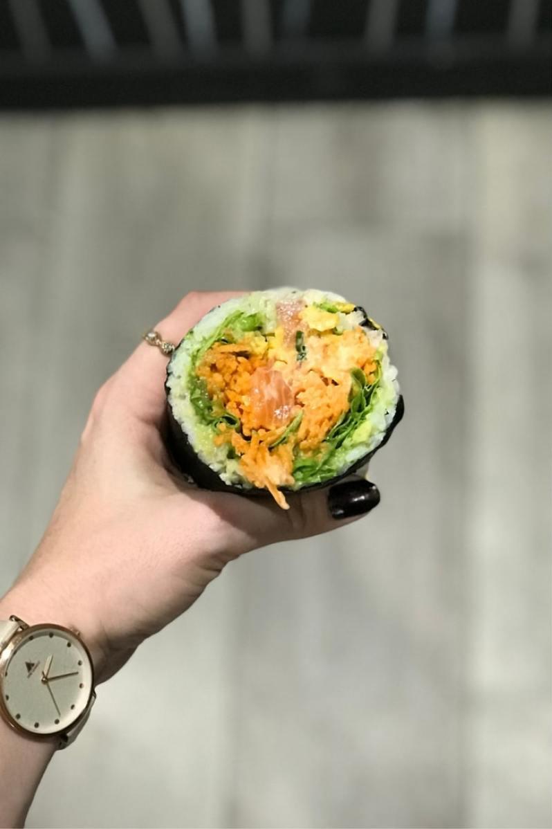 Fuumi - Des sushi burrito à Paris - restaurant