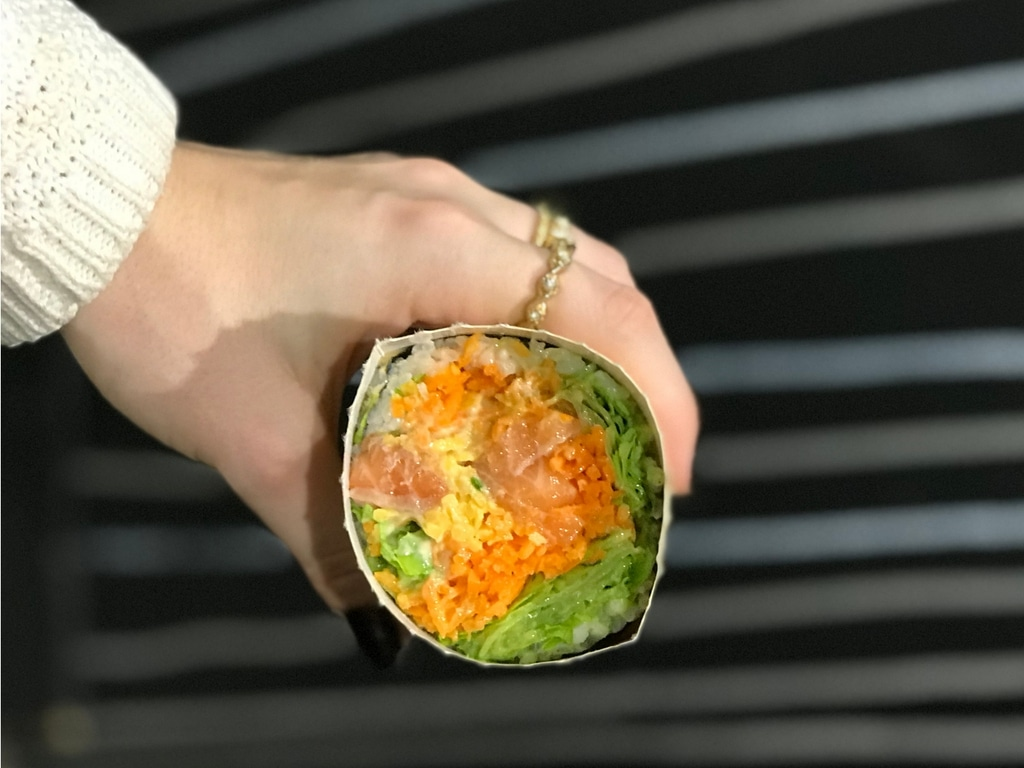 Fuumi – sushi-burrito à Paris