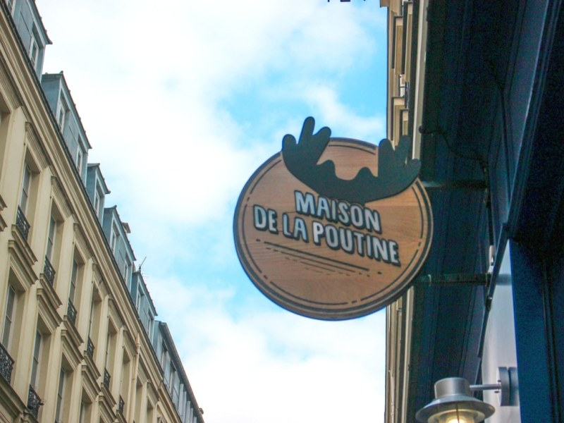 Paris : la maison de la poutine