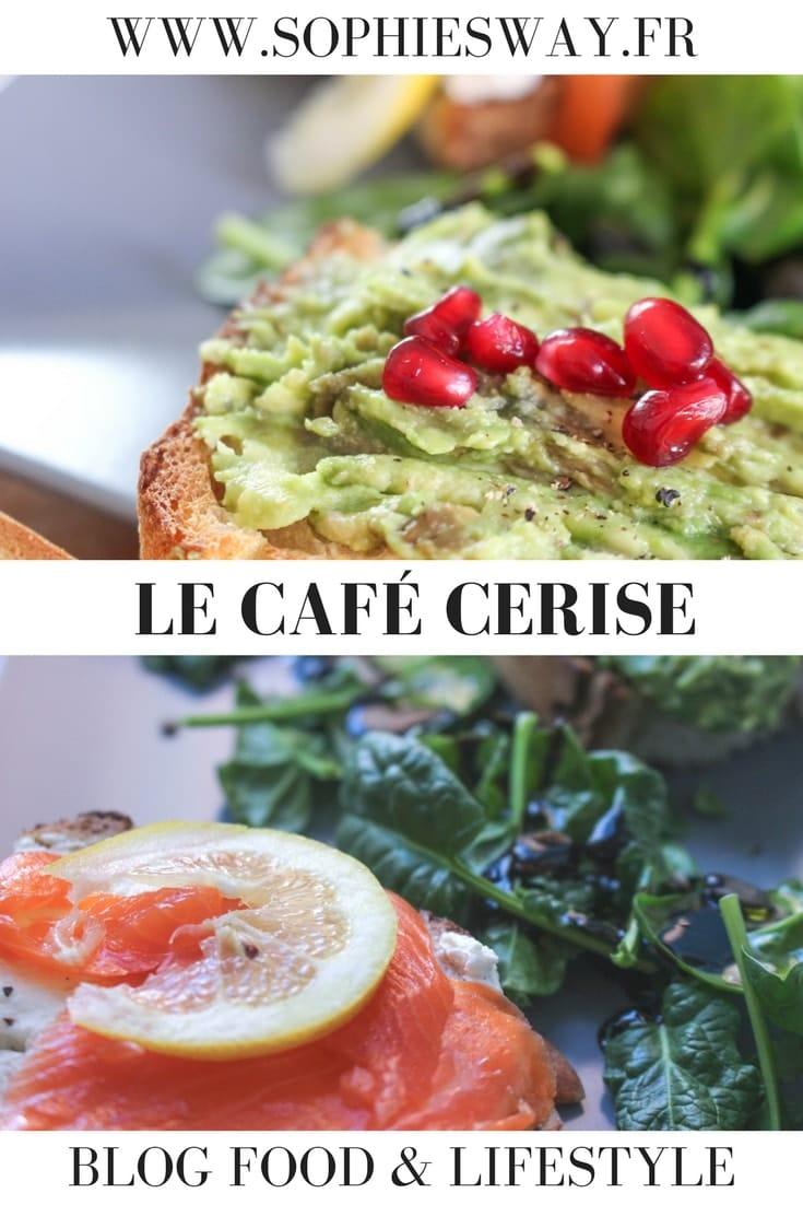 Le café Cerise à Toulouse - Sophie's Way - Blog food & lifestyle