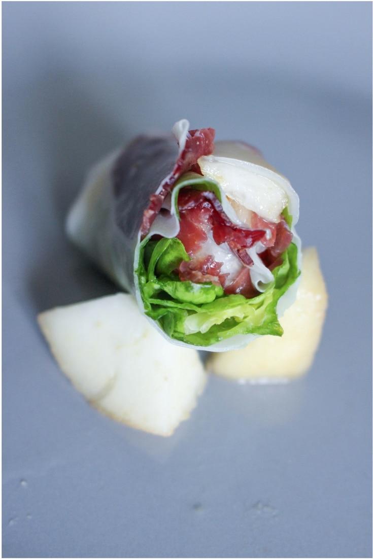 Rouleaux de printemps boeuf et poire - Blog cuisine, food, recette