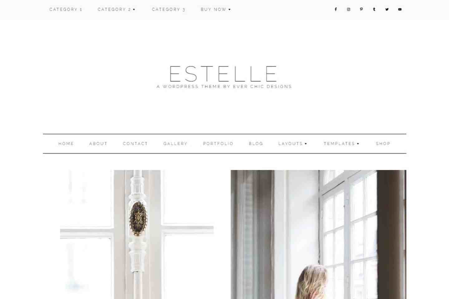 Estelle - theme template wordpress