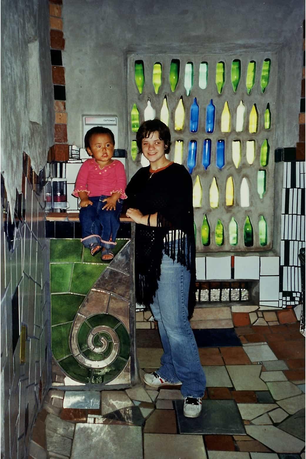 Hundertwasser Toilets New Zealand Sophies World Travel