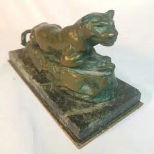 estimation sculpture bronze animalier