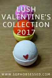 LUSH VALENTINE'S COLLECTION 2017 PIN