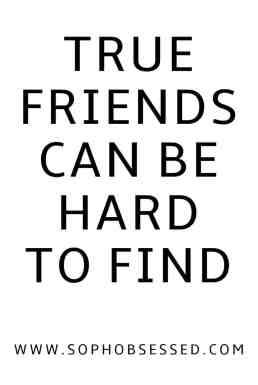 true friends