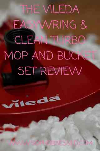 The Vileda EasyWring & Clean Turbo Mop and Bucket Set