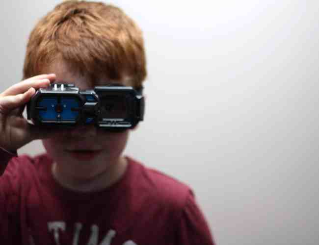Spy Time Using Spy Gear Ultimate Night Vision Goggles