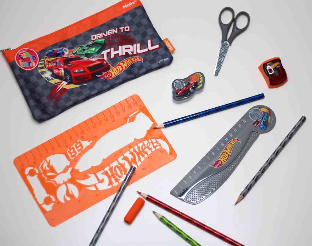 back to school fun to learn hot wheels stationary
