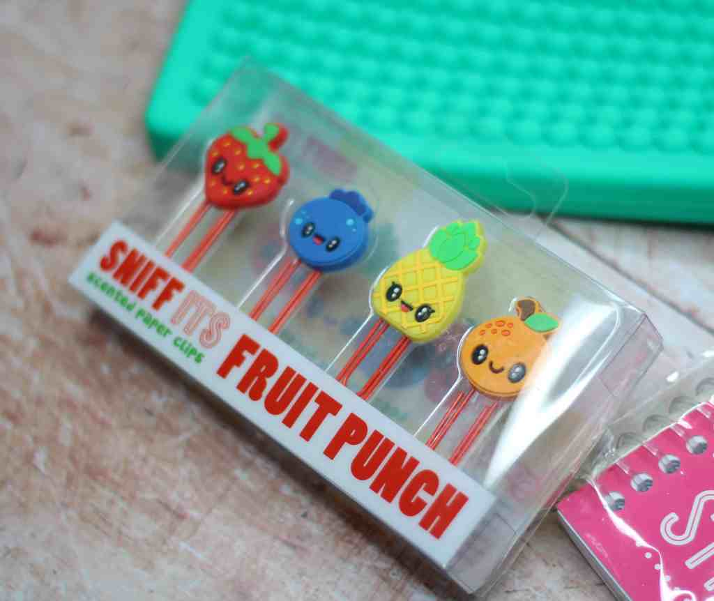 back to school must have scented paper clips