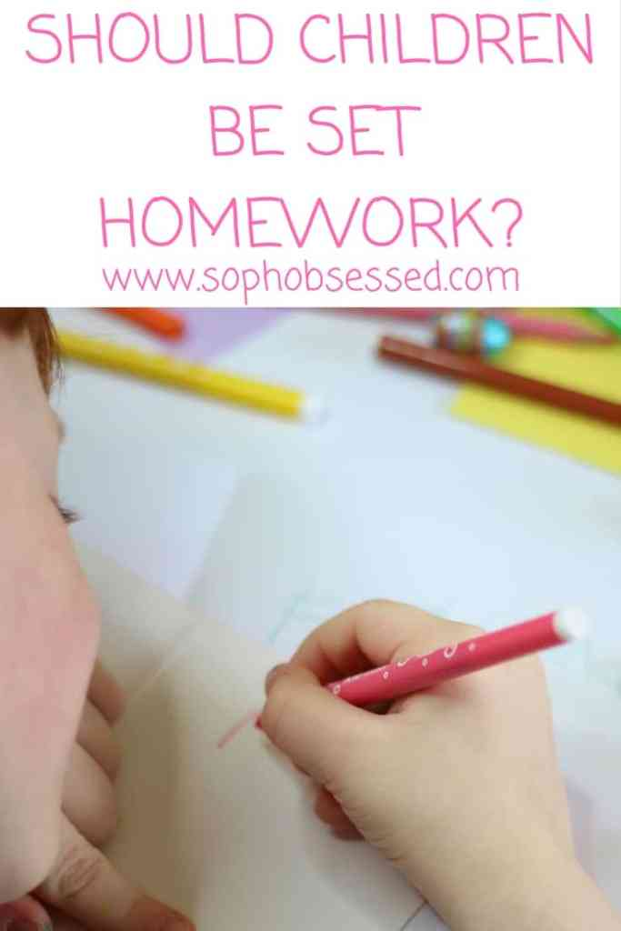 Should children be set homework?