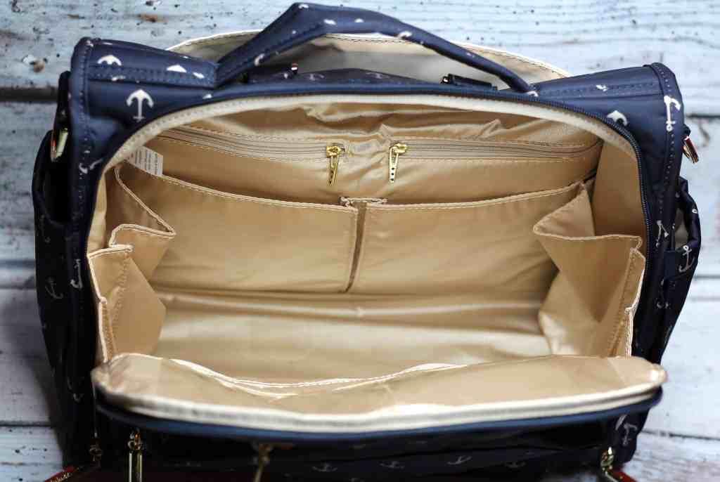 Ju-Ju-Be BFF Change Bag inside