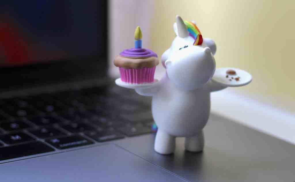 Bullyland Chubby Unicorn Figures birthday