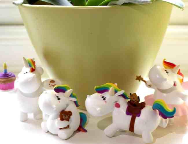 Bullyland Chubby Unicorn Figures
