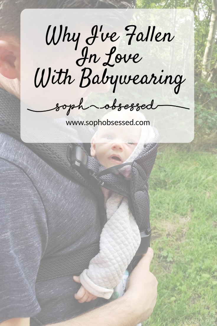 When my first son Henry was little, I didn't really do any babywearing. I don't really know why because I certainly did a lot of baby carrying. I always have liked the concept of babywearing and I wanted to explore it further.