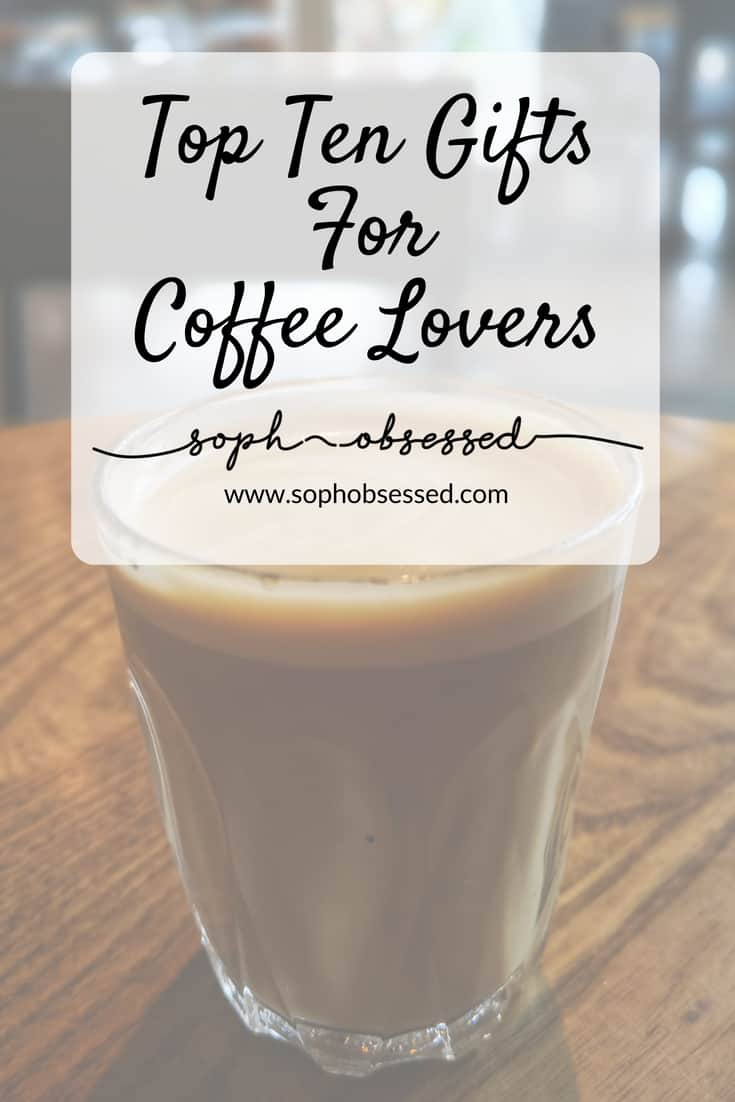 I love nothing more than a good brew. A hot cup of coffee or tea can make everything seem that bit better. I am a huge coffee fan and I love receiving quirky coffee lover related gifts. I've put together a few gifts perfect for coffee lovers everywhere.