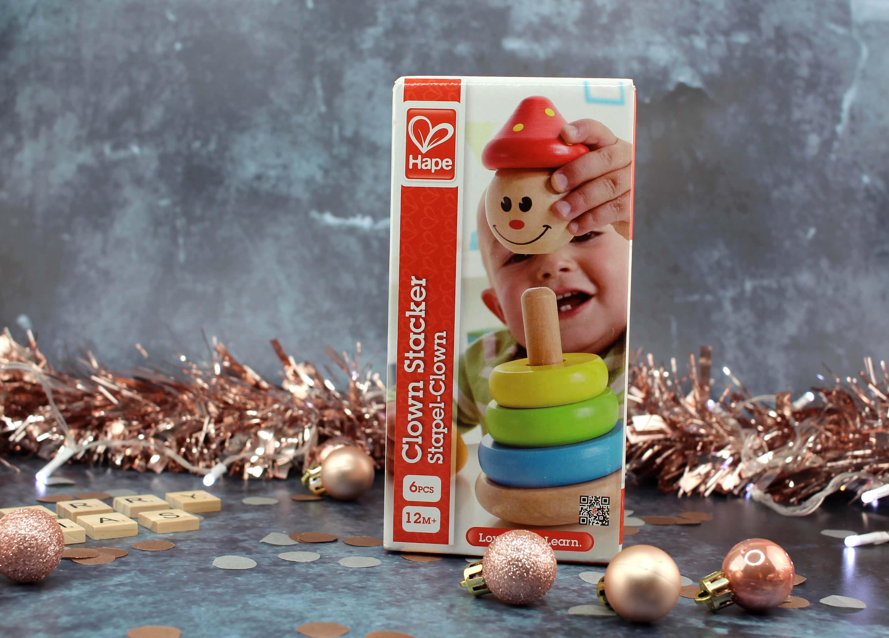 Clown Stacker Toy