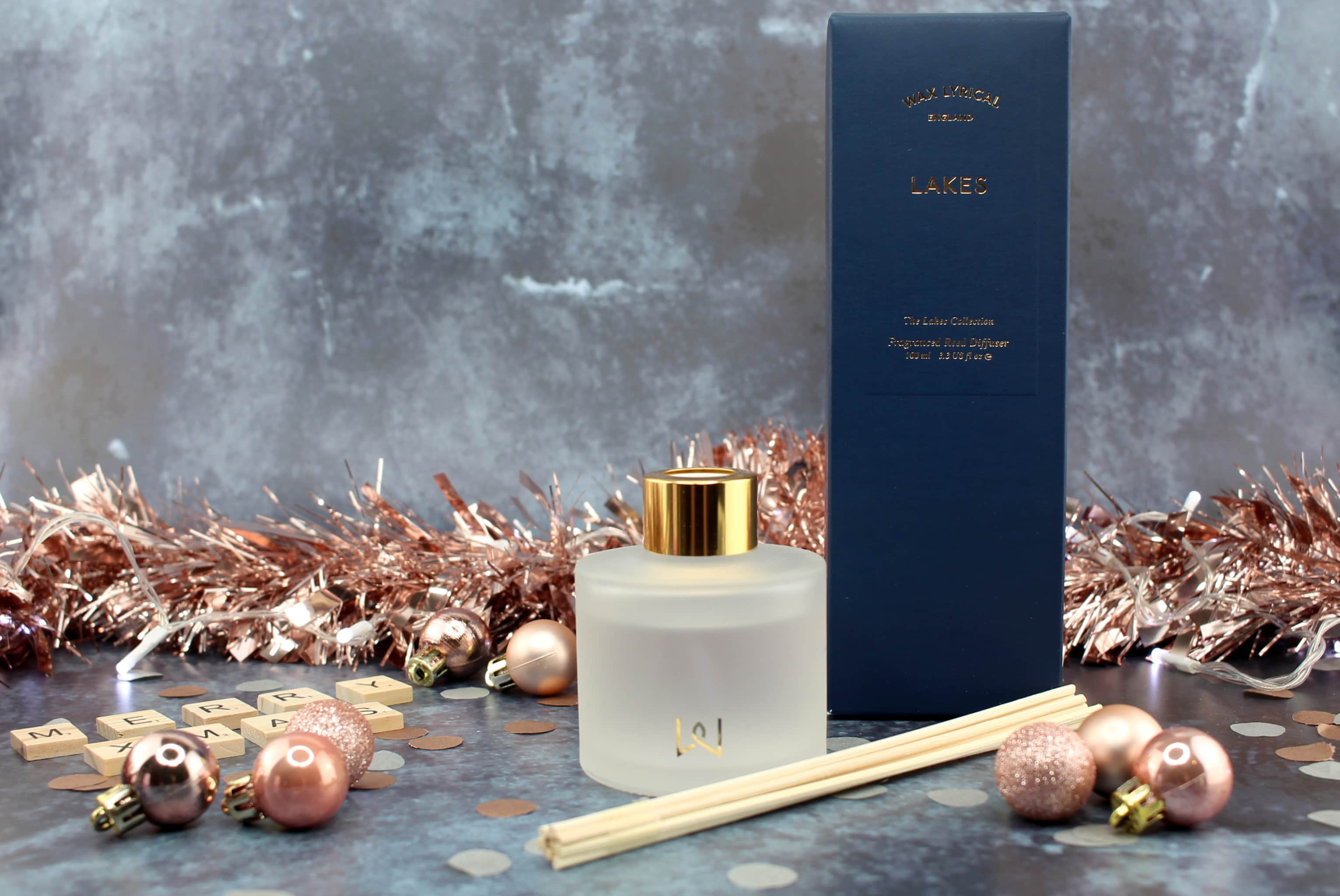 Lakes Reed Diffuser Wax Lyrical