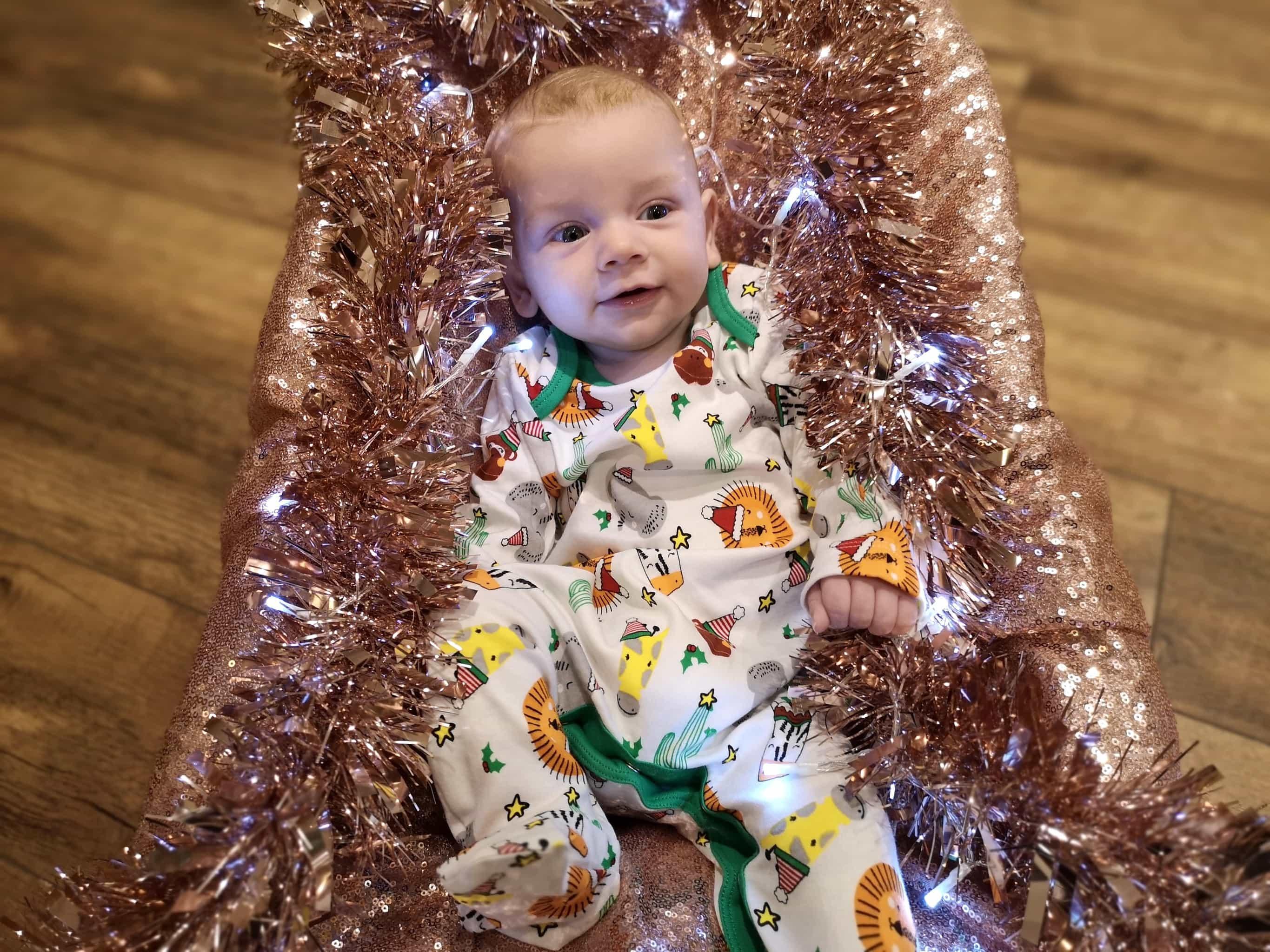 safari festive onesie