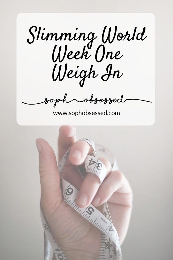 Week one of Slimming World can be really easy or really hard dependent on where you are in your mindset. I have to admit I really wasn't sure what the scales would say on weigh day but for those of you who are interested here is my week one Slimming World Update.