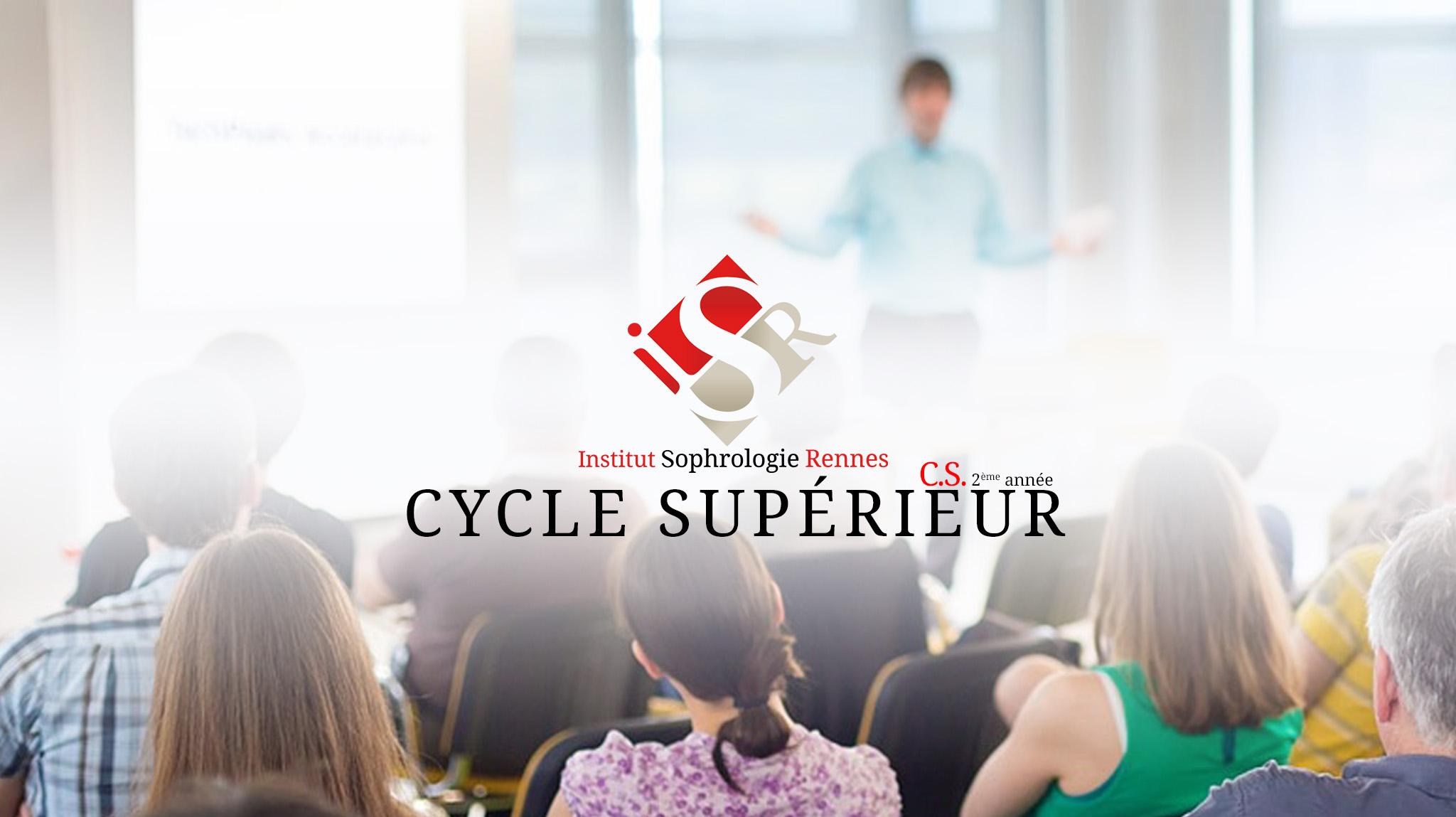 Cycle Supérieur - ISR