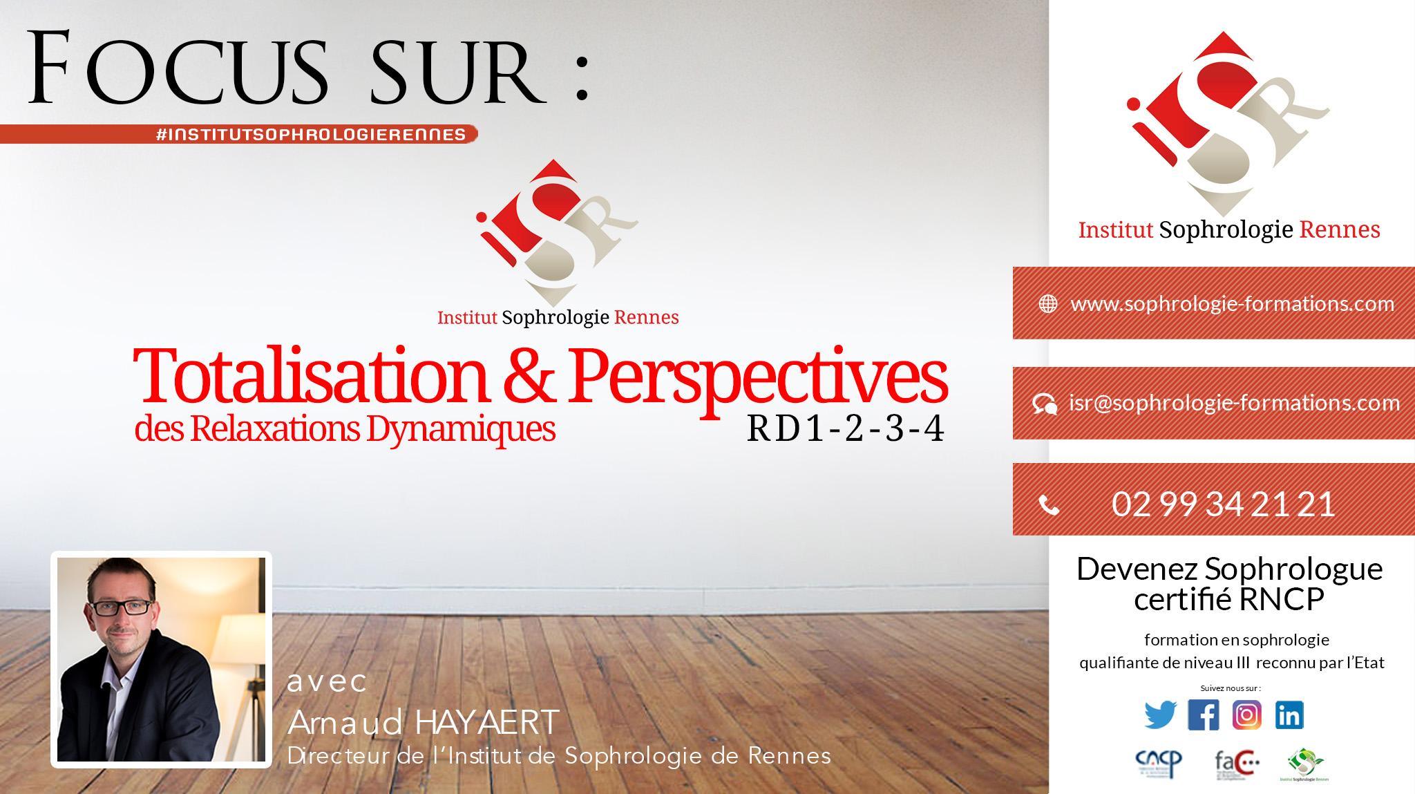 Totalisation et perspectives - ISR
