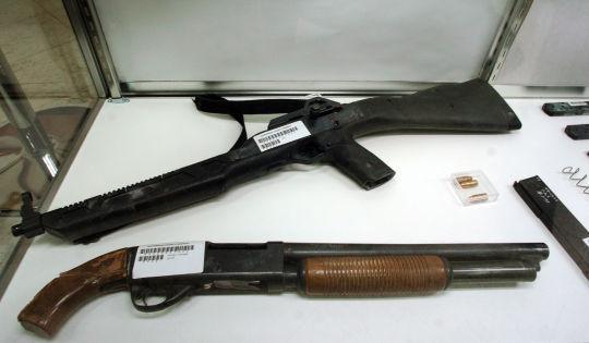 armas usadas en columbine