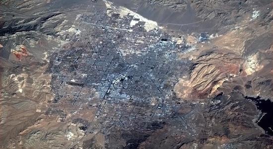 Las Vegas desde la ISS 02