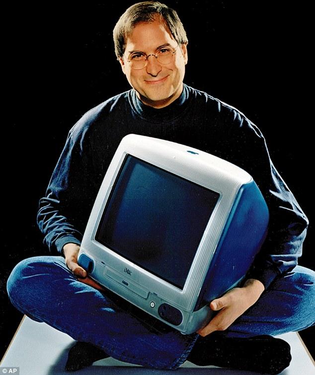 Steve Jobs presentando la iMac de 1998